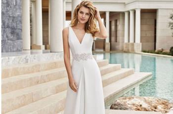 Abiti da sposa semplici: 50 modelli eleganti ed essenziali