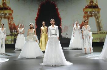 Cymbeline conquista la Valmont Barcelona Bridal Fashion Week con i suoi abiti da sposa 2021