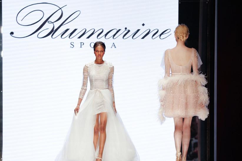 e7b3e6deb6 Abiti da sposa Blumarine 2020: la purezza della femminilità in una ...