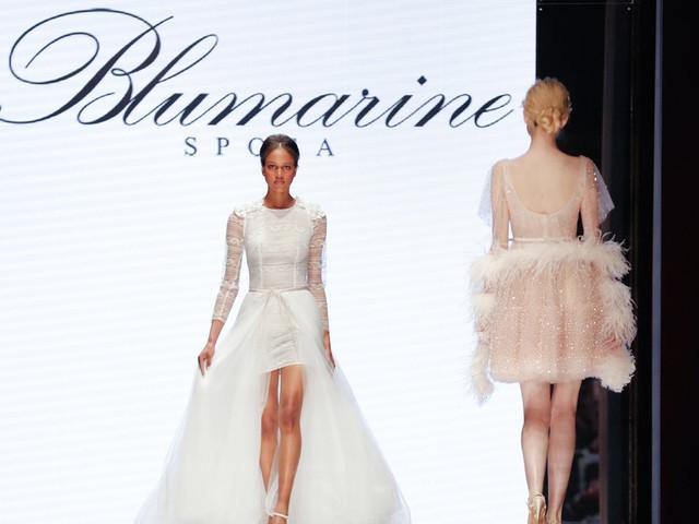 Abiti da sposa Blumarine 2020: la purezza della femminilità in una collezione esclusiva