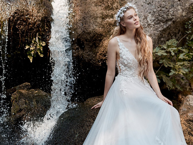 35 abiti da sposa con ispirazione floreale