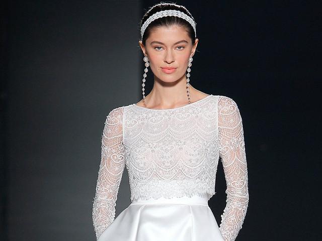Abiti da sposa Rosa Clará 2020: sulle passerelle della VBBFW trionfano le principesse