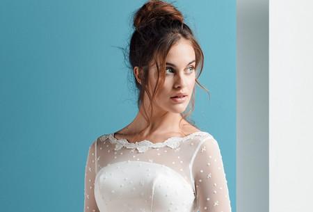 40 abiti da sposa con collo a barchetta