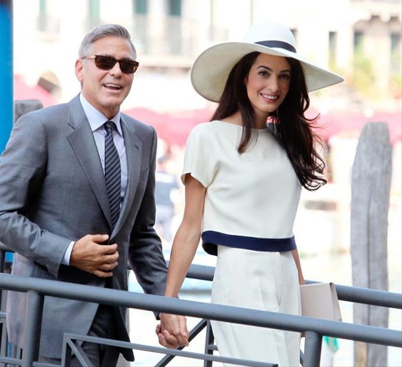 George e Amla Clooney