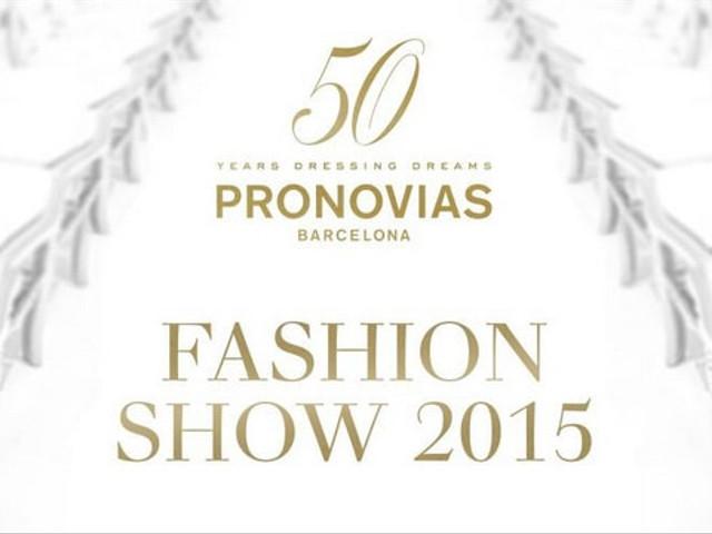 Sfilata Pronovias 2015 in diretta