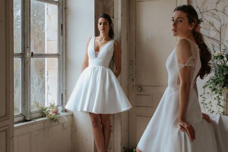 15 abiti da sposa corti con ispirazione retrò: vintage è chic!