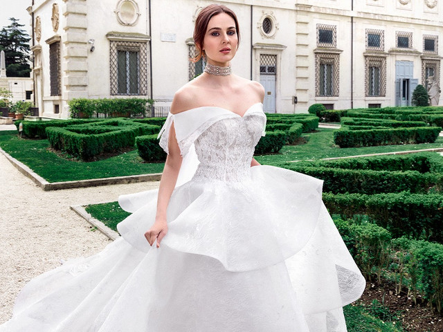 50 abiti da sposa con volant: il trend che fa sognare