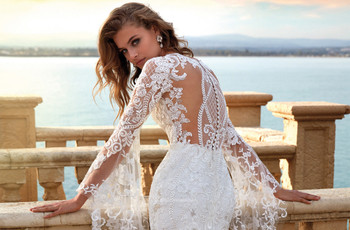 50 abiti da sposa in pizzo per stili diversi