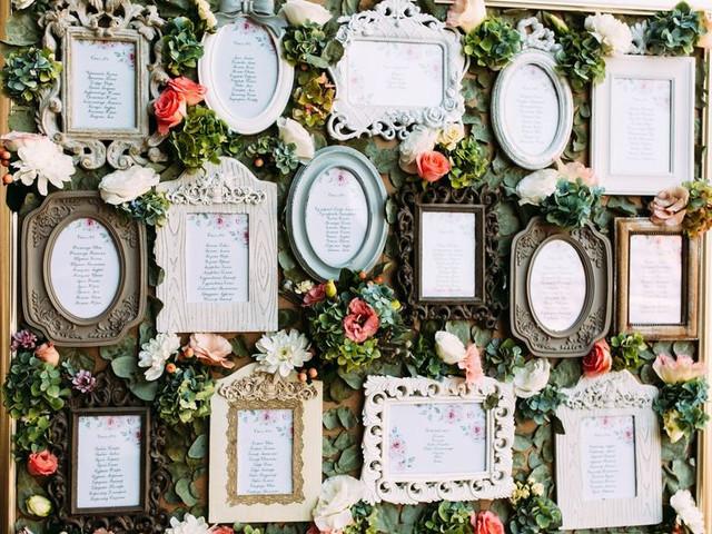 6 temi per un tableau de mariage originale