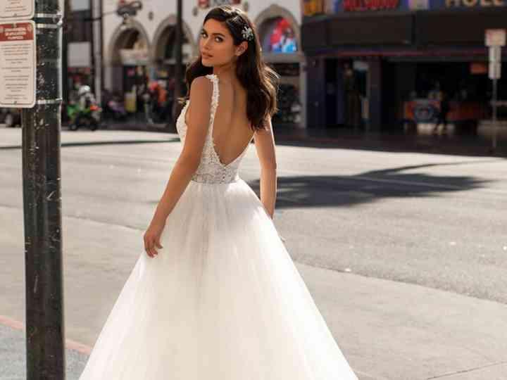 spesso 40 abiti da sposa con strascichi incredibili TB37