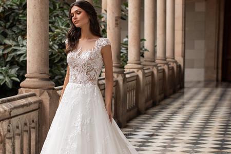 40 abiti da sposa con corpetto trasparente per un look super sensuale