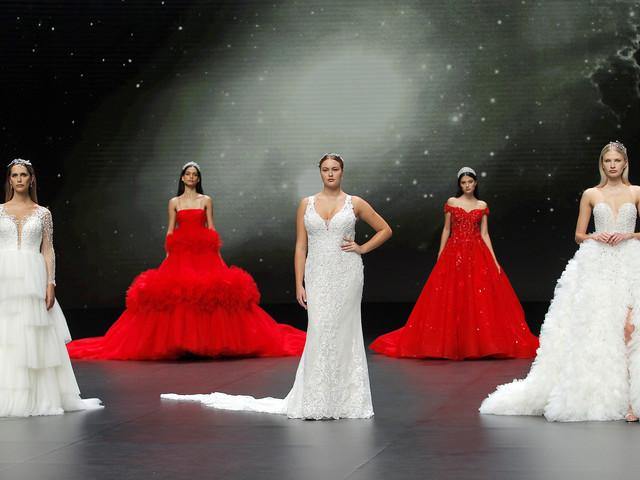Valmont Barcelona Bridal Fashion Week 2020: sfilano gli abiti da sposa Demetrios