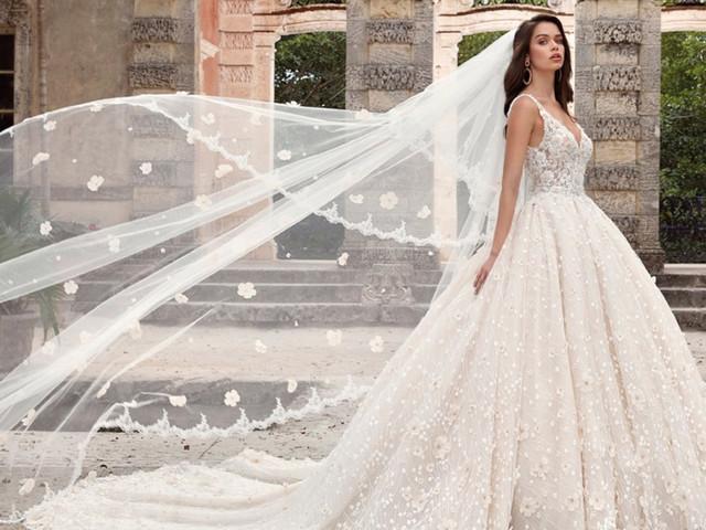 Il velo da sposa: l'elenco completo di tutte le tipologie