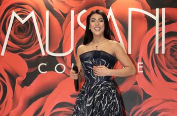 Giulia Salemi in passerella al Sì Sposa Italia per presentare le collezioni 2020 di Musani Couture