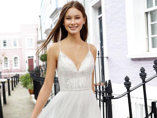 40 abiti da sposa per corporature molto magre