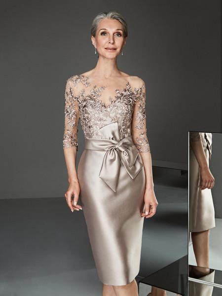 Vestiti Eleganti X Signora.Abiti Da Cerimonia Per Signora 50 Modelli Per Ogni Gusto