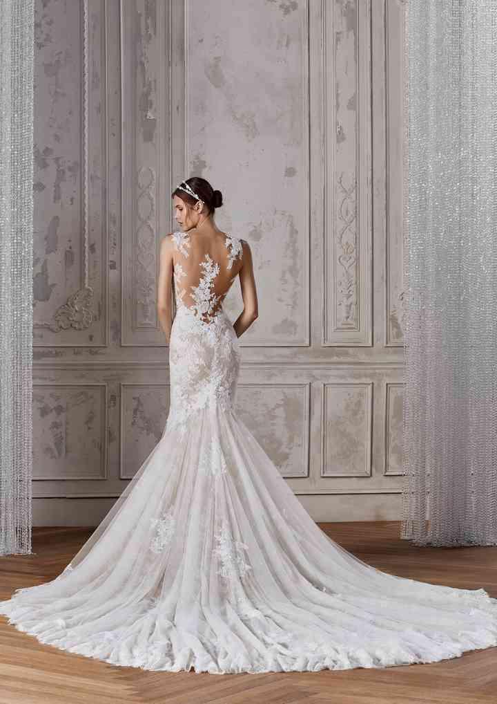 Vestiti Da Sposa Merletto.50 Abiti Da Sposa In Pizzo Per Stili Diversi