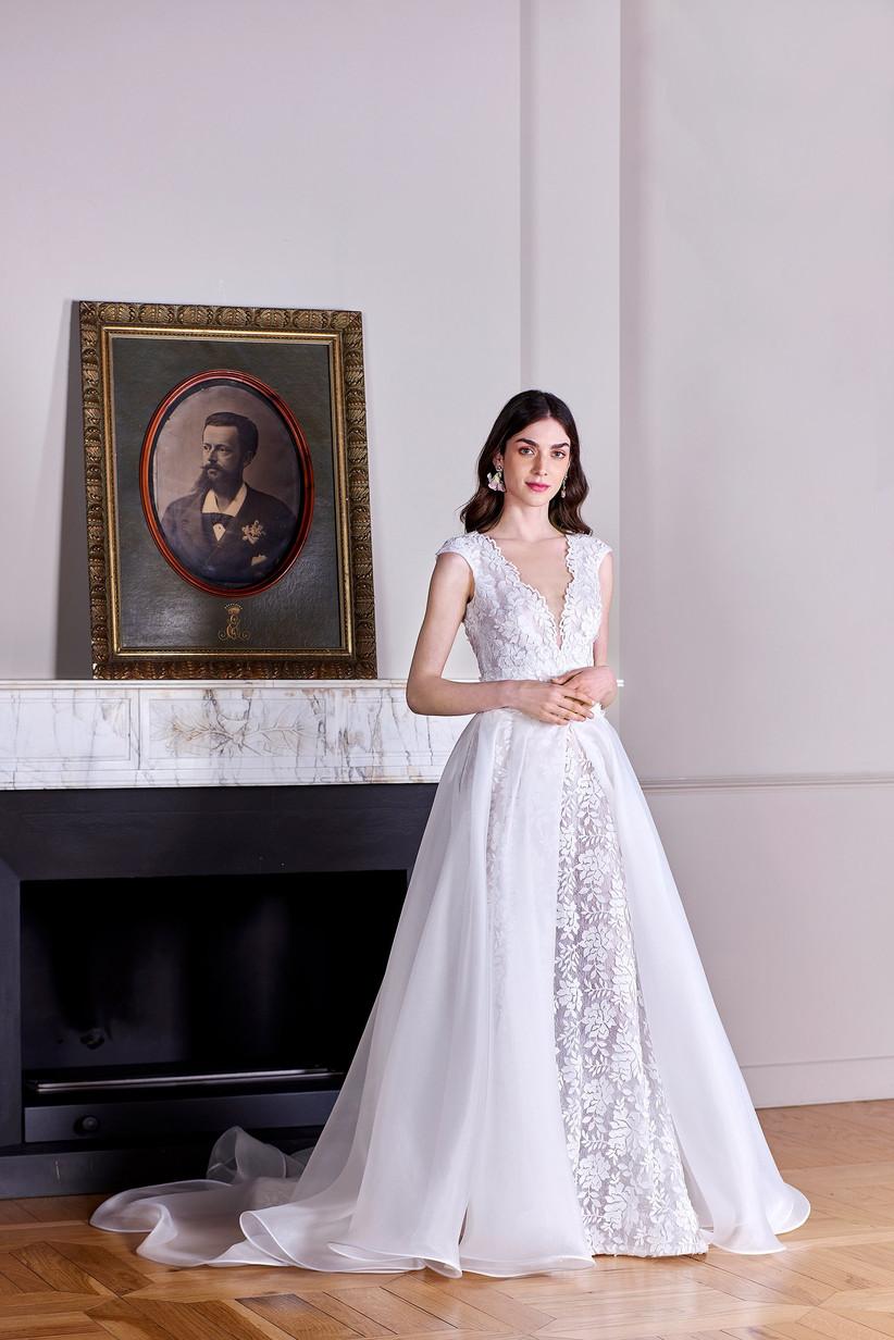 abito da sposa pizzo