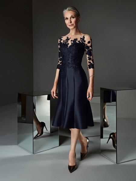 Vestiti Eleganti Corti Signora.Abiti Da Cerimonia Per Signora 50 Modelli Per Ogni Gusto