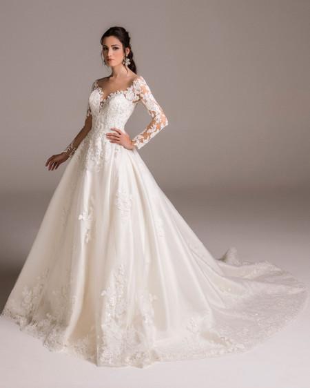 Vestiti Da Sposa Invernali.50 Bellissimi Abiti Da Sposa Invernali Per Risplendere Nonostante