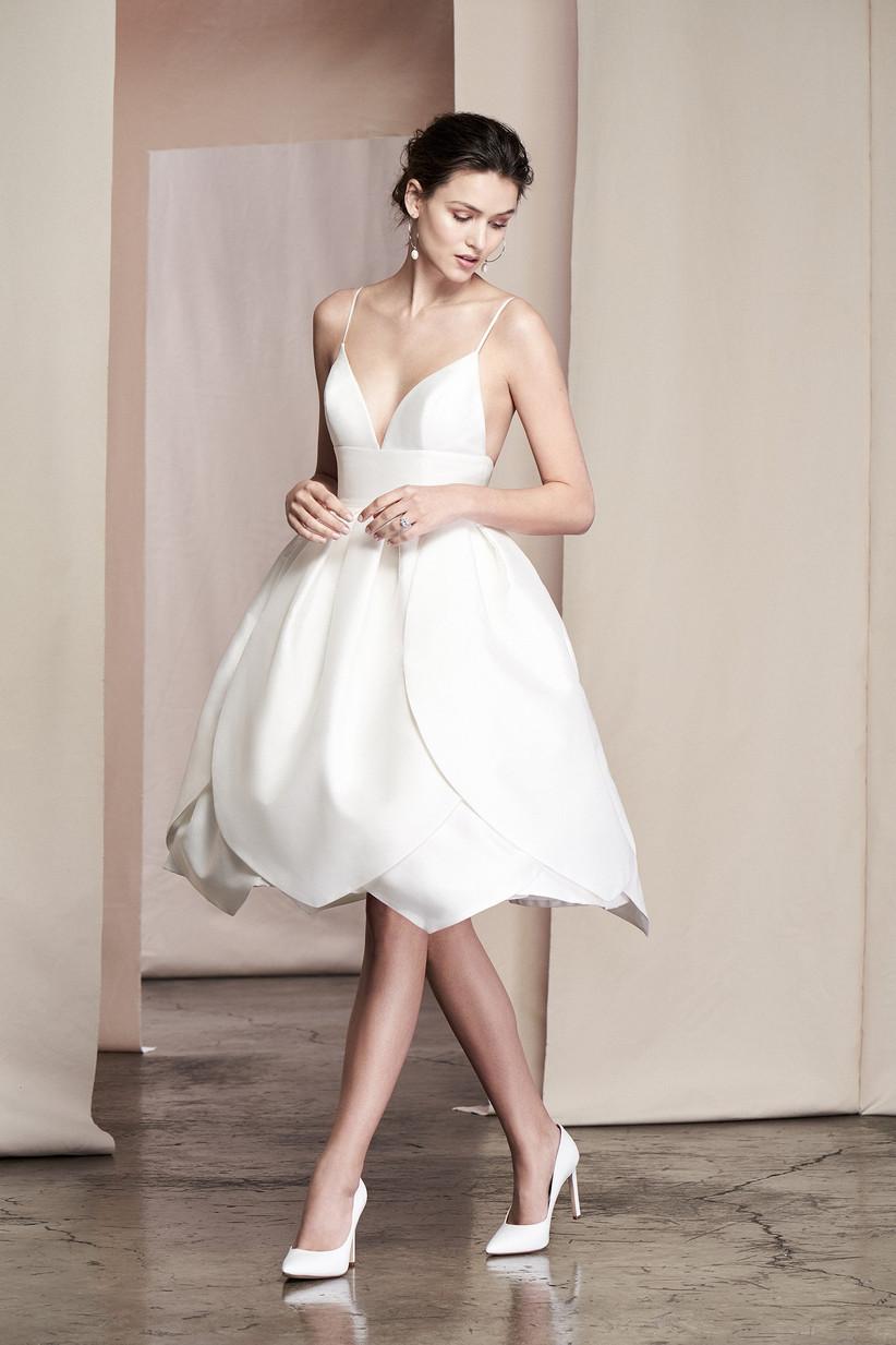 1d862d5c904f Abiti da sposa midi  outfit nuziale con stile e bon ton