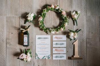 11 partecipazioni di nozze in stile acquerello