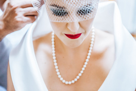 Il rossetto rosso: un must have per tutte le spose!