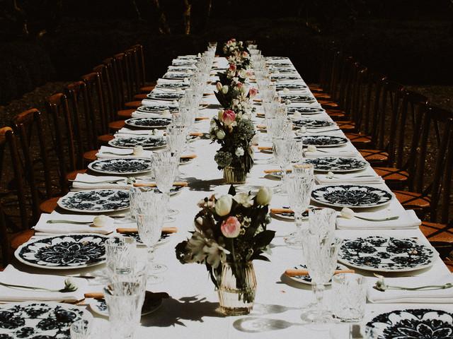 10 elementi essenziali per rendere perfetti i vostri tavoli nuziali