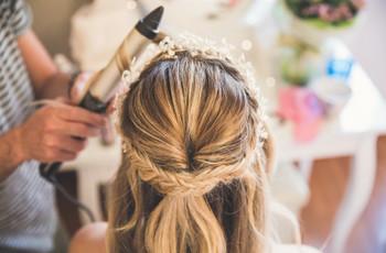 Acconciature sposa con semiraccolto: 30 idee incantevoli!