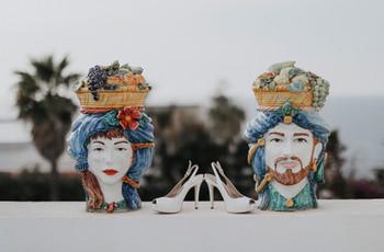 Teste di moro: la punta di diamante dell'artigianato siciliano sbarca nel mondo del wedding!