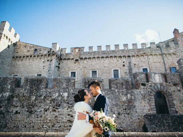 6 buone ragioni per sposarsi in un castello