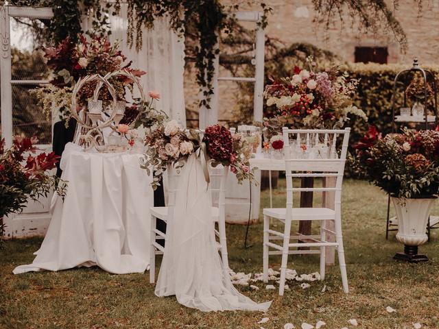 Colori d'autunno: 10 idee per decorare le nozze nella stagione della riscoperta