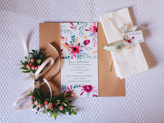 Quando consegnare le partecipazioni di nozze?