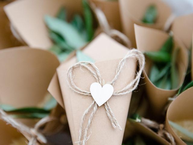 6 idee regalo ecologiche per i vostri invitati a nozze
