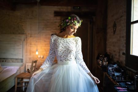 """Corone di fiori per l'acconciatura da sposa: 20 proposte per un effetto """"wow""""!"""