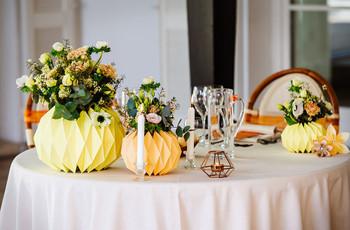 Centrotavola per matrimonio: 7 semplici spunti per un banchetto di gran classe