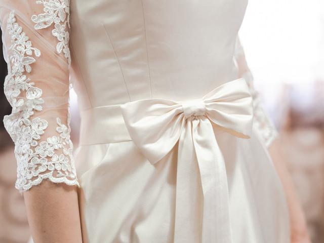 Abiti da sposa in seta: l'abc per scegliere quello giusto
