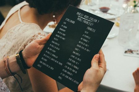 SOS Matrimonio bilingue: quale lingua usare?
