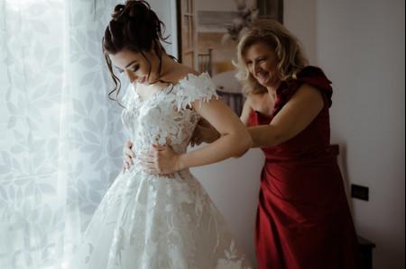 A casa della sposa: 50 foto dei preparativi il giorno delle nozze