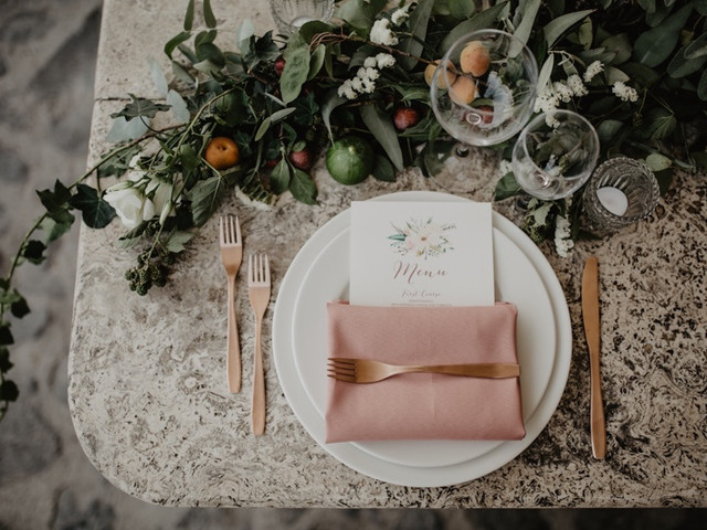 Banchetto di nozze: tutte le opzioni tra cui potrete scegliere