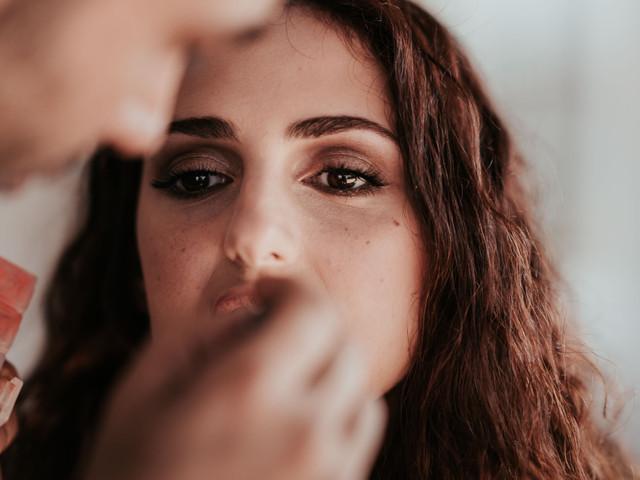 Make-up naturale per la sposa d'autunno