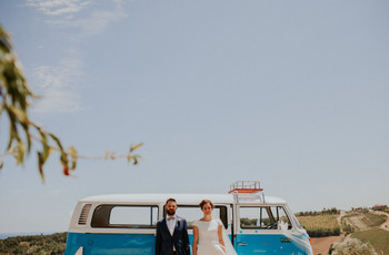 12 mezzi di trasporto molto originali per gli sposi