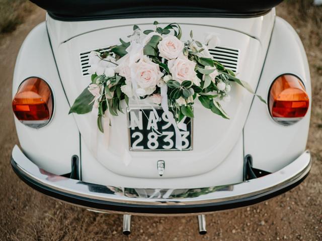 La giusta decorazione floreale in base al mezzo di trasporto