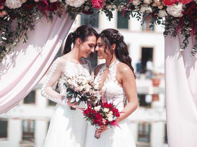 Nozze gay: protocollo di entrata alla cerimonia