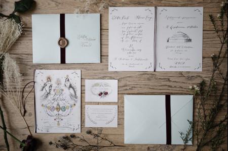 Partecipazioni di matrimonio 2021: 40 idee di tendenza