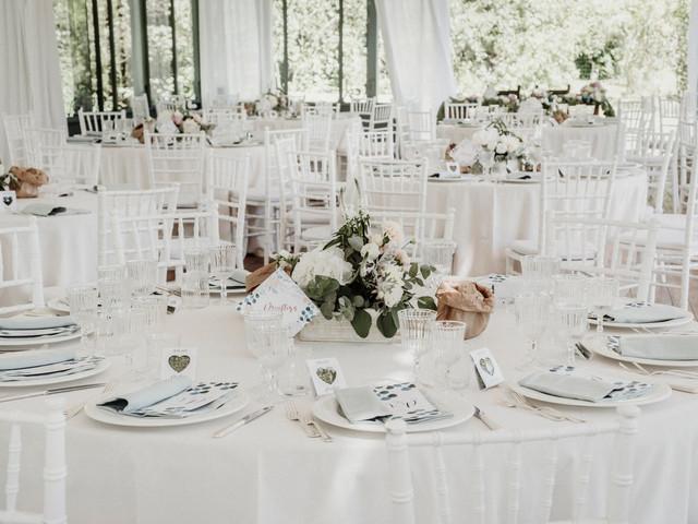 7 consigli efficaci per organizzare i tavoli del banchetto di nozze