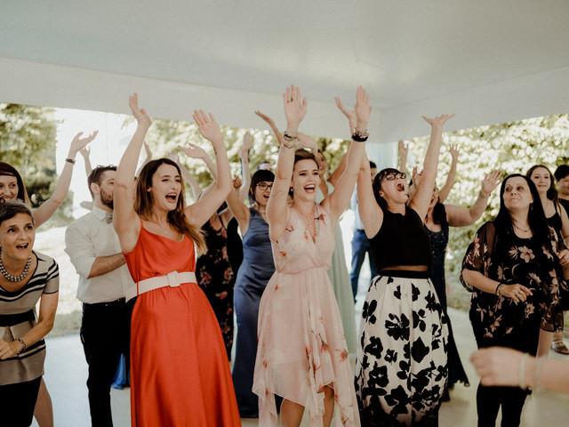 Un flashmob come animazione di nozze: divertimento assicurato!