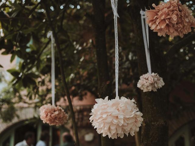 Decorate le vostre nozze con i pompon!