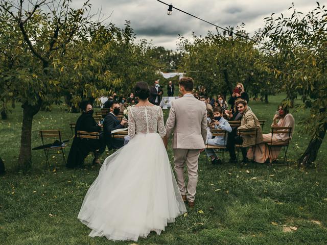 30 foto dell'arrivo degli sposi: il momento ideale per immortalare i vostri sorrisi