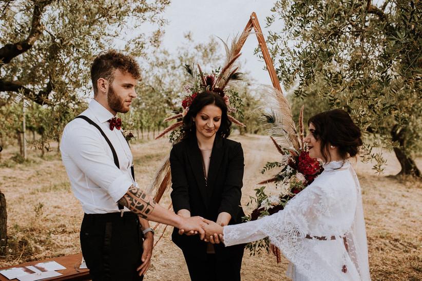 matrimonio boho chic